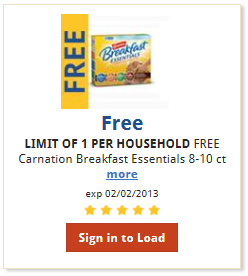 carnation coupon