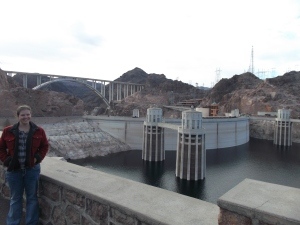 The Hoover Dam is free to see (tours cost extra) and just a short drive east of Las Vegas.