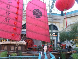 The Bellagio Hotel is full of fun, free things, such as the conservatory's changing displays.
