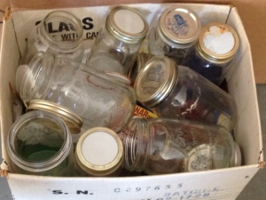 These jars cost just a few cents each at a recent auction.