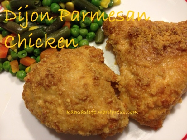 dijon parmesan chicken cover