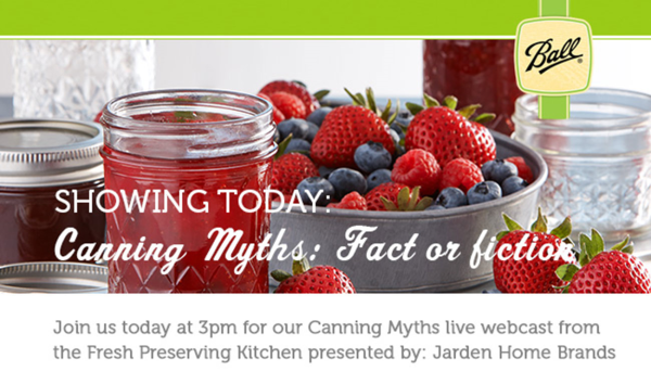 canning myths